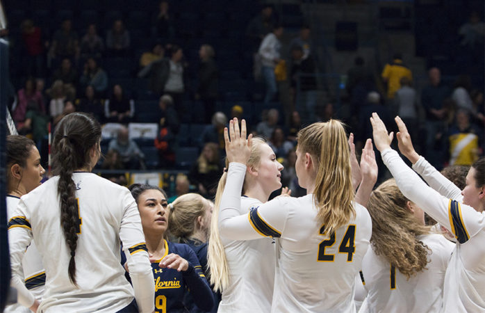 No. 16 Cal volleyball finds its own power, blows past ASU, Arizona