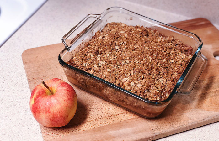 Fall in love with this easy, delicious apple crisp recipe