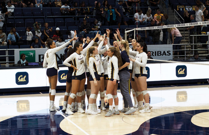 Cal volleyball readies for 2 tough road matches