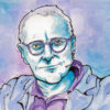 Illustration of David Sedaris