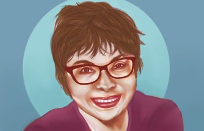 Illustration of Judith Heumann
