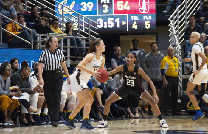 Cal women's basketball suffers blowout in Corvallis