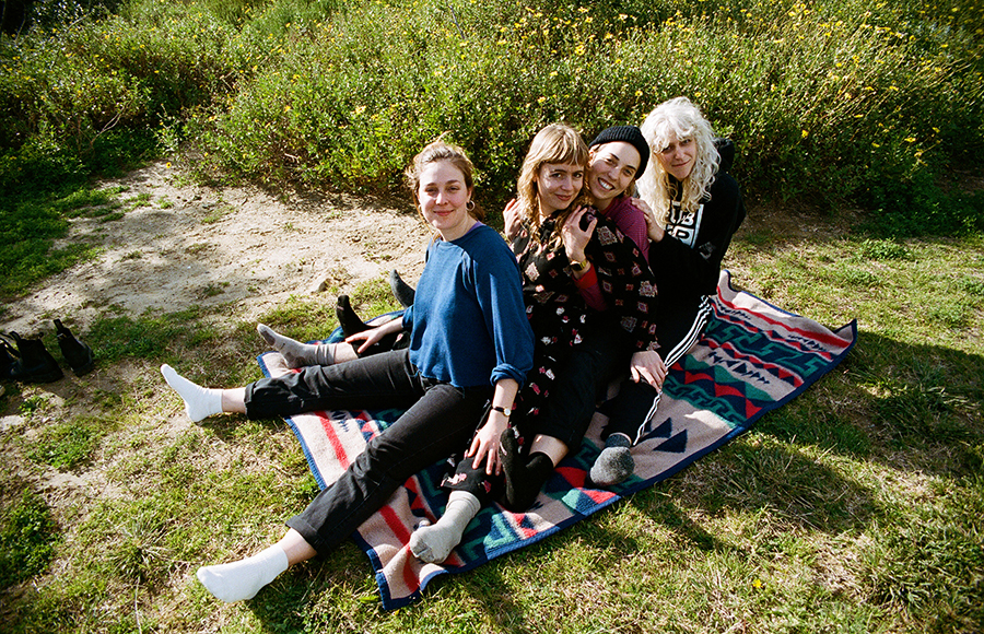 Chastity Belt graces Great American Music Hall with relaxing yet vibrant performance