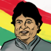 Illustration of Evo Morales