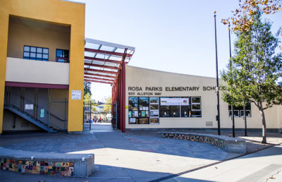 (FILE) Photo of Rosa Parks Elementary School in Berkeley, Karin Goh