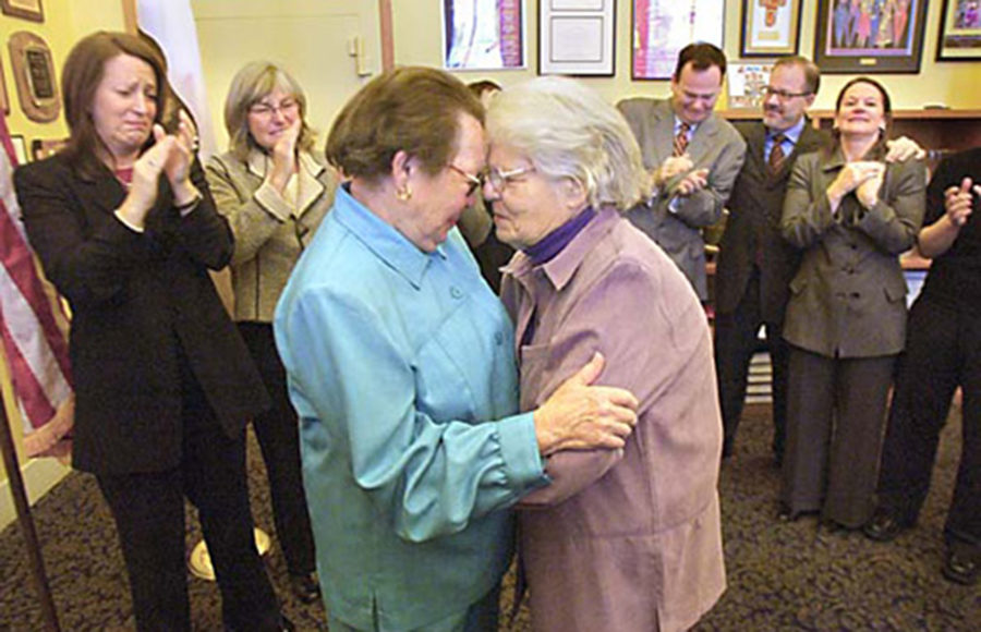 Phyllis Lyon and Del Martin
