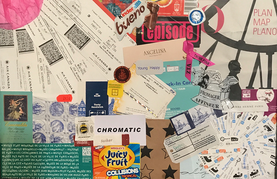 How To Repurpose Your Travel Memories Collaging And Scrapbooking