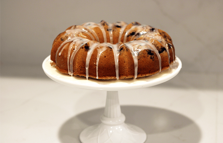 Bake with me: Lemon blueberry poppy seed cake | The Daily Californian