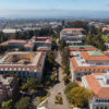 Overhead view of UC Berkeley campus.