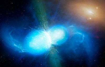 Photo of ultra-dense neutron stars