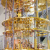 Photo of a quantum computer