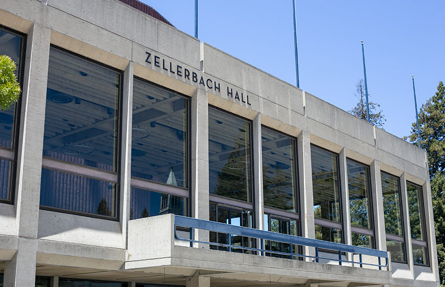 Photo of UC Berkeley Zellerbach Hall