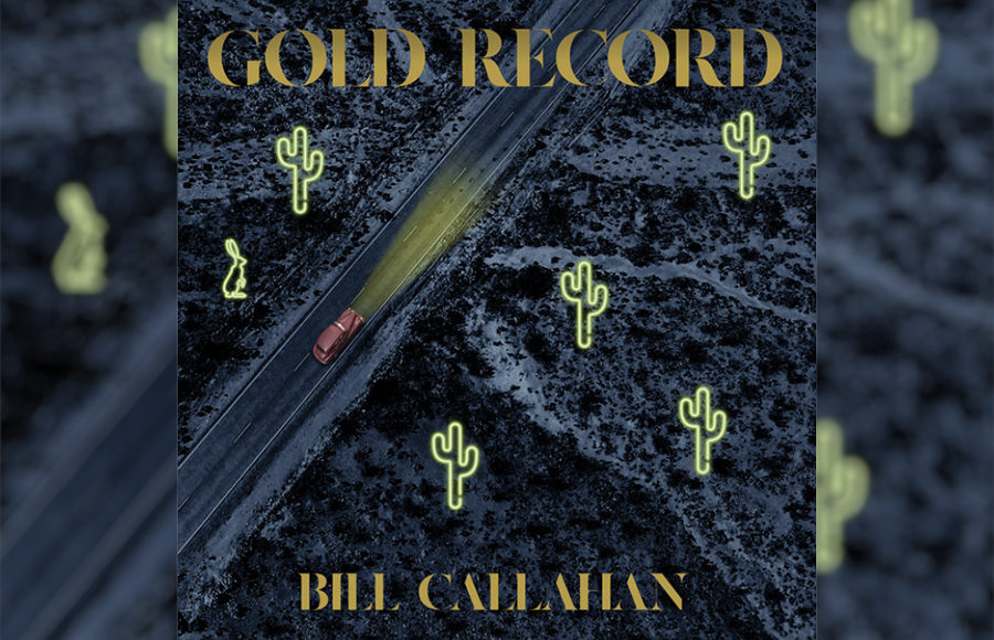 "Photo of Bill Callahan's album, ""Gold Record"""