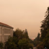 Photo of smoke / smokey campus