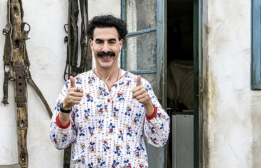 Sacha Baron Cohen breaks from formula in 'Borat Subsequent Moviefilm'