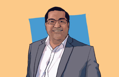 Illustration of Berkeley Mayor Jesse Arreguín.