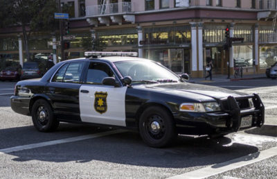 Photo of a Berkeley Police Car