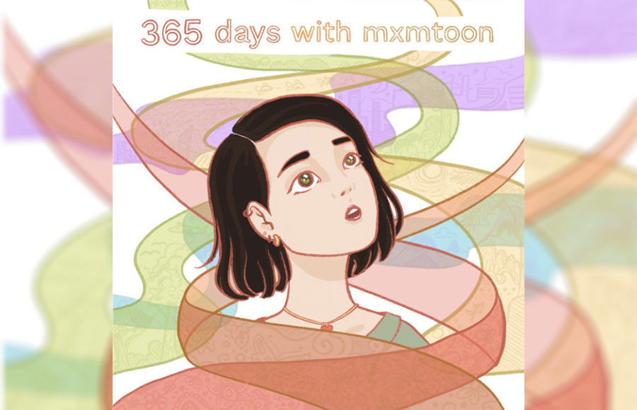 """Photo of the cover of mxmtoon's podcast """"365 days with mxmtoon"""""""