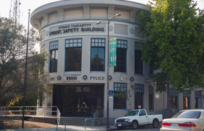 File photo of Berkeley Police Department Ronald Tsukamoto Public Safety Building