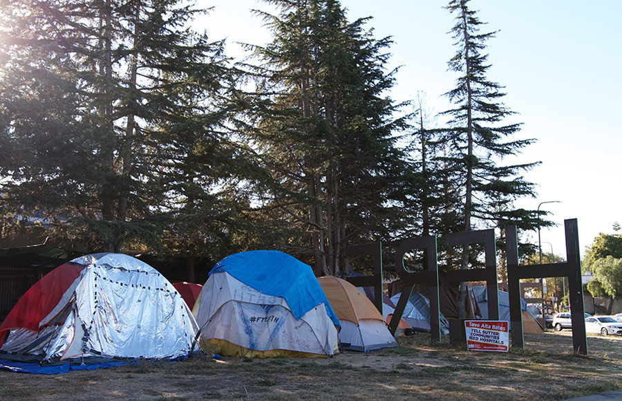 Photo of Berkeley homeless encampments