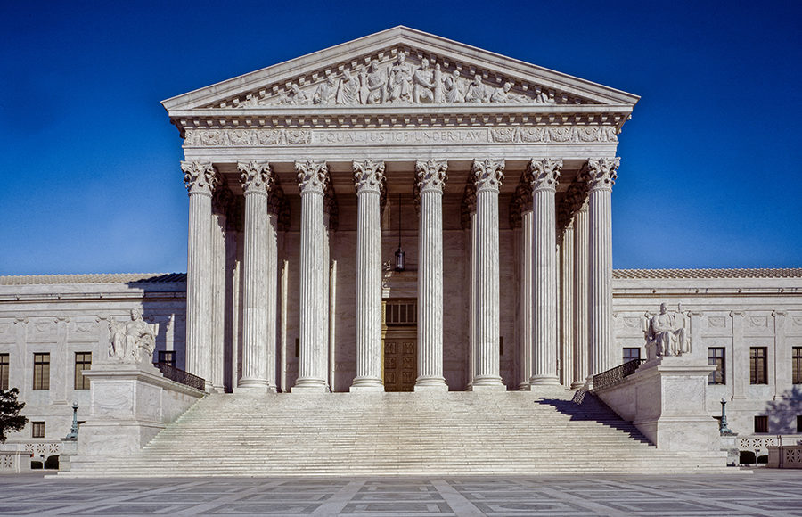 Photo of United States Supreme Court Building