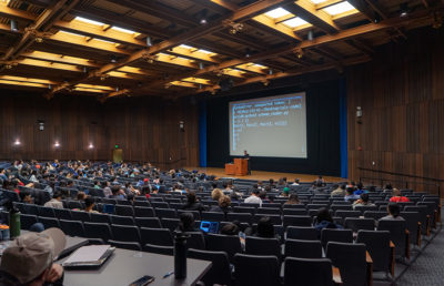 Photo of Wheeler Lecture Hall