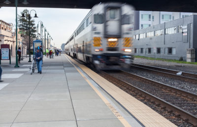 Photo of Berkeley Amtrak train station