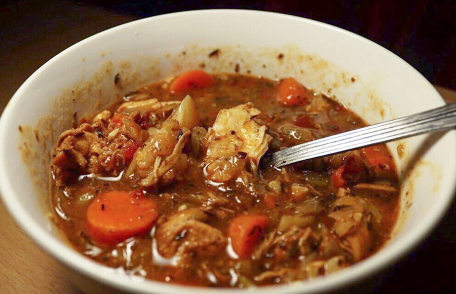 Hearty and healthy: Chicken, vegetable medley and herb soup recipe