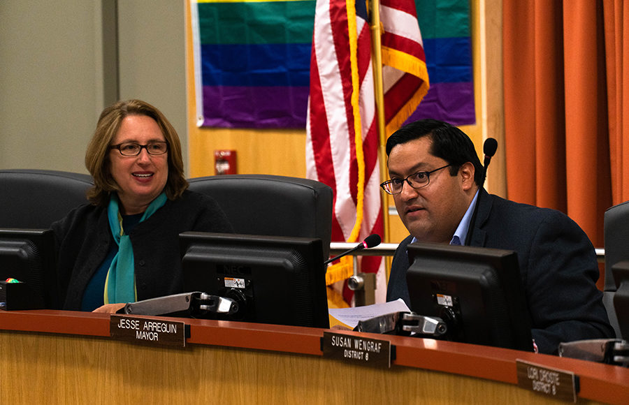 Photo of City Council Meeting from October 2019
