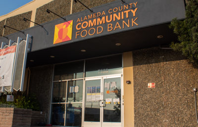 Photo of the Alameda County Community Food Bank