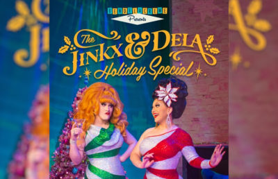 "Photo of the album, ""The Jinx & Dela Holiday Special"""