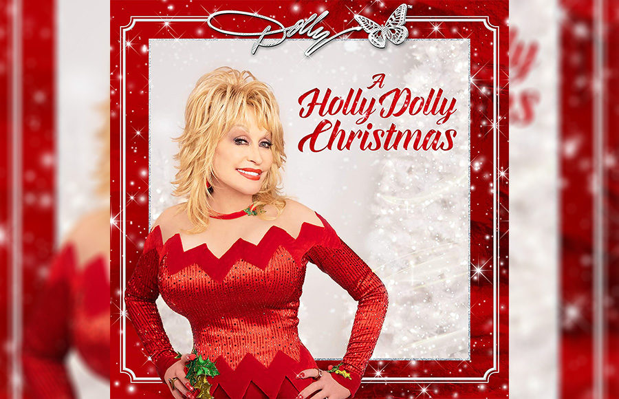 "Photo of the album, ""A Holly Dolly Christmas"""
