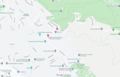 Photo of assaults on map