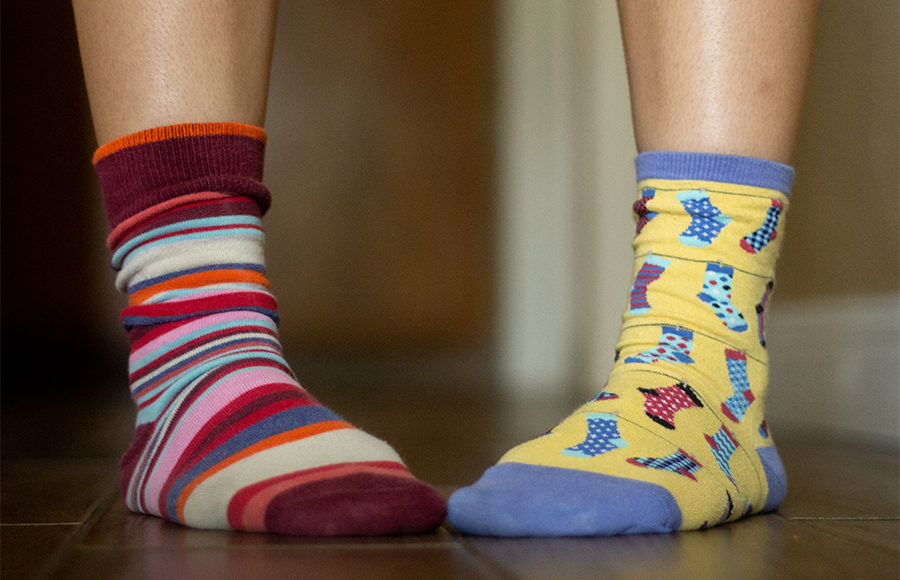 Photo of a pair of socks