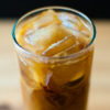 Photo of an iced coffee