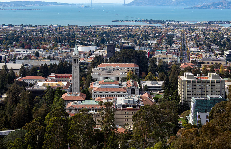 Photo of the city of Berkeley