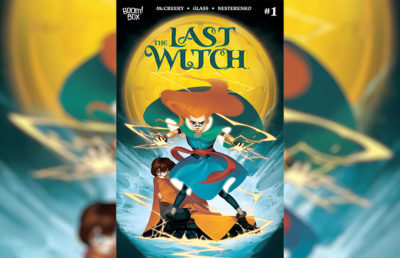 Photo of The Last Witch comic book