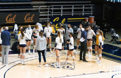 Photo of Cal Women's Volleyball