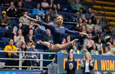 Photo of Kyana George of Cal Gymnastics