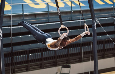 Photo of Cal Men's Gymnastics's Jelani Sweet