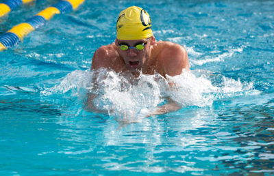 Image of Male Swimmer