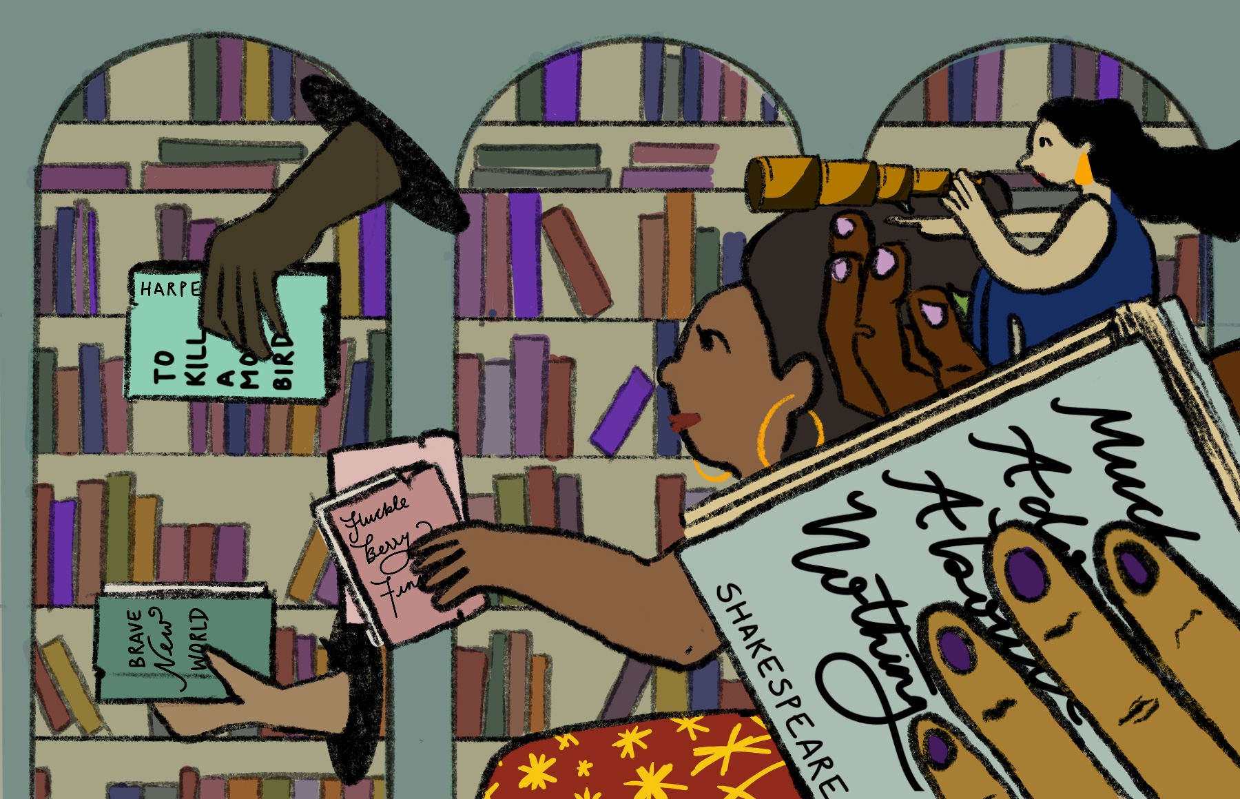 Diversifying the high school reading list