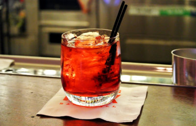 Photo of Negroni cocktail