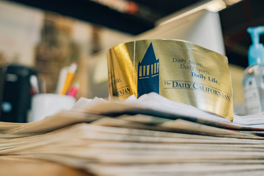 Photo of The Daily Californian Tape