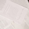 Photo of papers on a desk