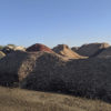 Photo of mounds of soil