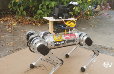 Photo of Robot Dog Guide
