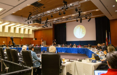 Image of UC Regents Meeting