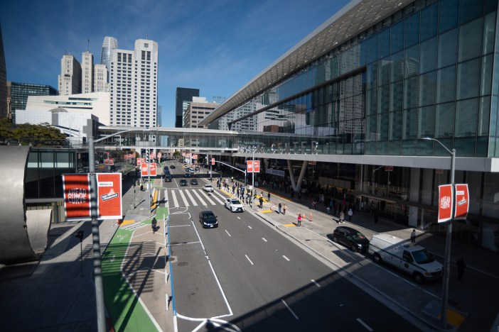 Photo of Moscone Vaccination Center