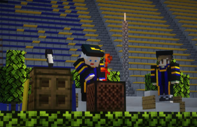 Photo of Blockeley commencement